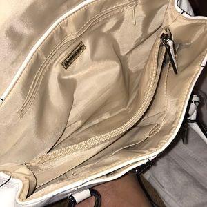 White mini bag giani bernini